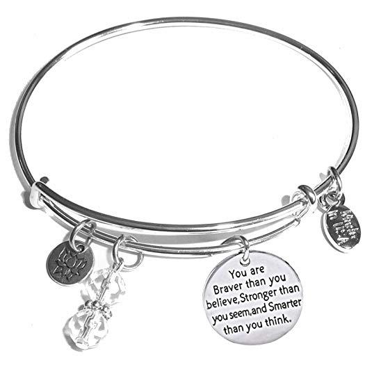 Message-Charm-Expandable-Wire-Bangle-Bracelet
