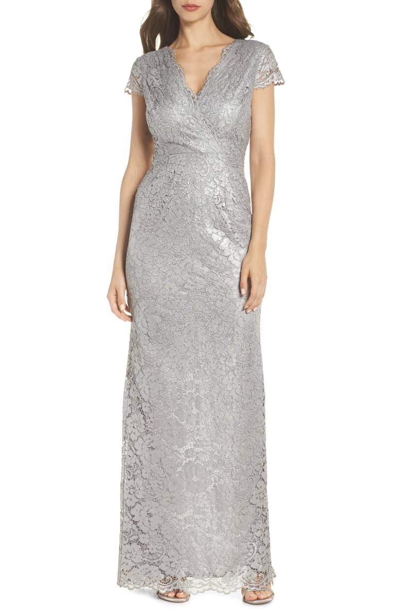 Metallic-Lace-Gown