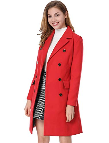Women's-Notched-Lapel-Double-Breasted-Trench-Coat